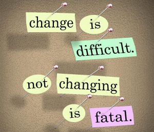 Importance of change